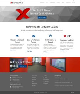 New Xceptance Website