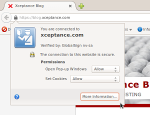 The Blog is HTTPS only