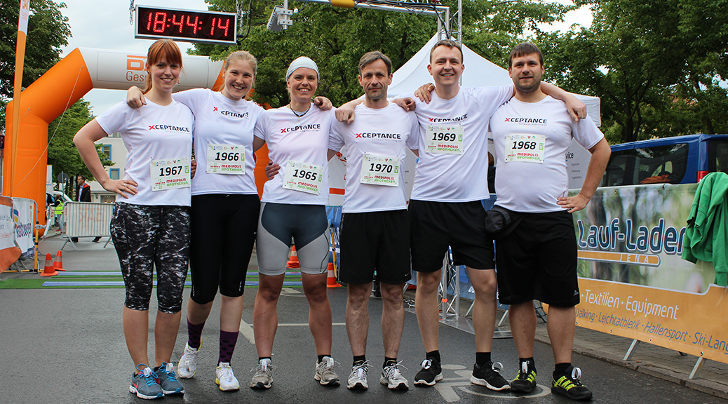 Xceptance at 5th Jena City Corporate Running Challenge
