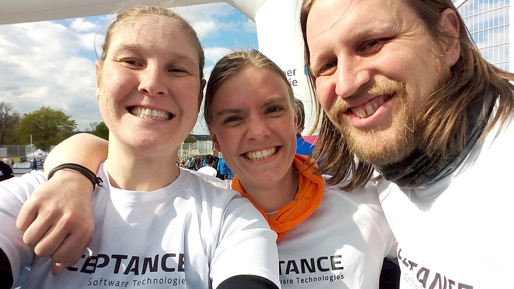 Xceptance at 11th Charity Relay in Jena
