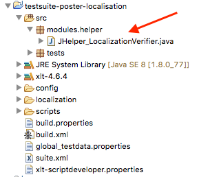Location of the Java module source file.