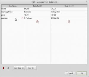 XLT 4.7 Data Sets